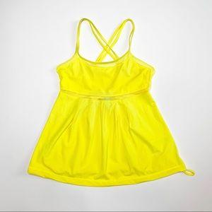 Adidas Stella McCartney Lemon Yellow Workout Tank